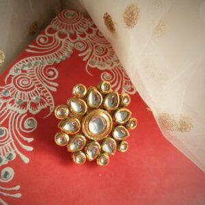 Stunning Kundan Ring Accessories Rings