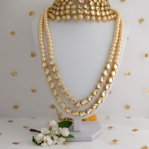 Maharani Kundan Set Necklaces Neck-choker