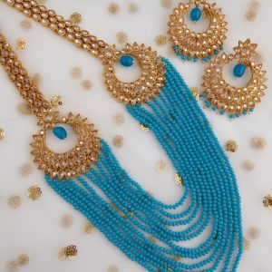 Trendsetting Turquoise Set Necklaces Blue