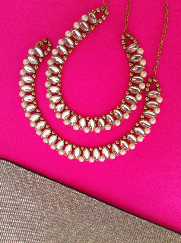 Gorgeous Pearl Payals Accessories Pearls