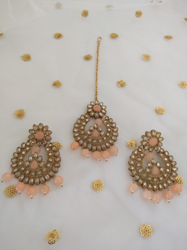Adorable Tikka Set in Dusty Pink NFShip Baby-pink