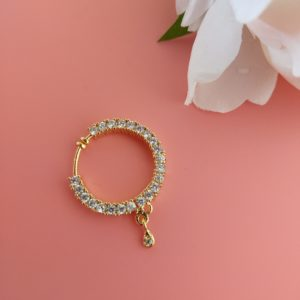 Leela Sparkly Nath Accessories The Bollywood Trends Collection