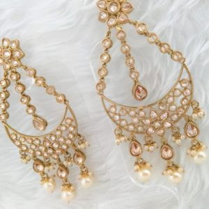 Adorable Avaani Earrings Earrings Champagne Colour