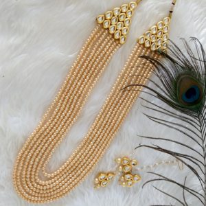 Aarushi – Classic Pearl Haar Necklaces gold