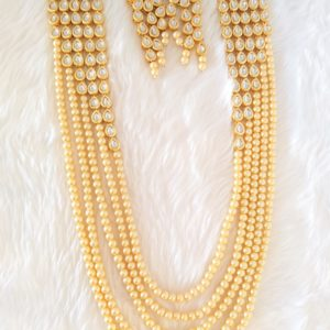 Classic Pearl Long Necklace Necklaces Pearl