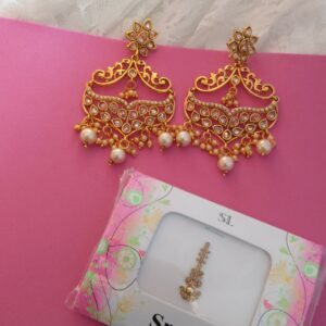 Sajaan Earrings Earrings Pearls