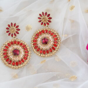 Payal Earrings Earrings Red
