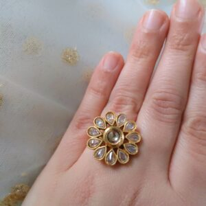 Little Flower Ring Accessories Rings