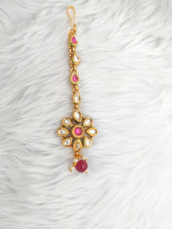 Rubinder Tikka Set The Bollywood Trends Collection Red