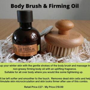 Body Brush & Firming Oil BeautyByNina Gifts