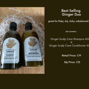 Ginger Hair Care Set BeautyByNina Gifts