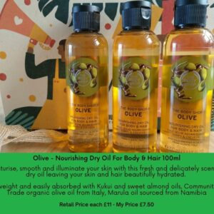 Olive Hair & Body Oil BeautyByNina Gifts